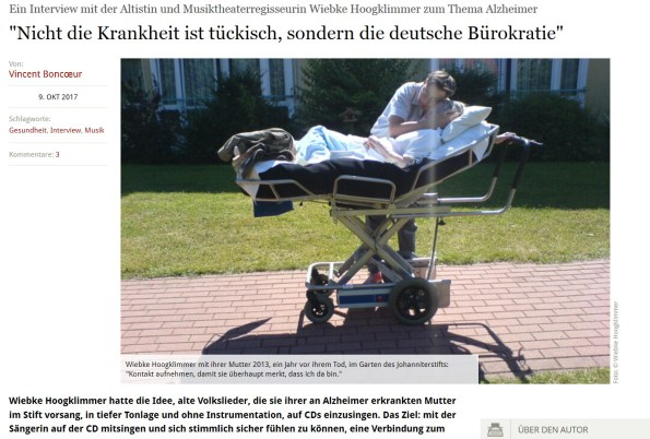 Nicht die Krankheit ist tückisch, sondern die deutsche Bürokratie